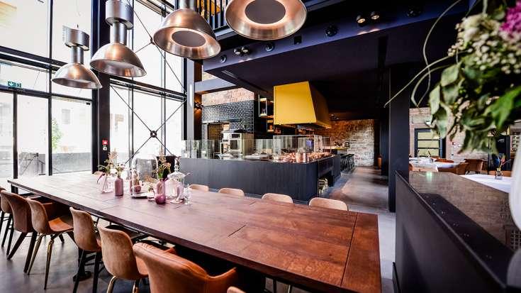 Restaurant wasser brot hotel liberty offenburg for Design hotel offenburg